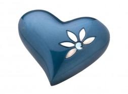 Crystal Blue Heart